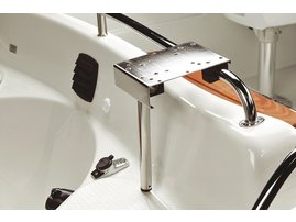 Downrigger holder (rail mounting)