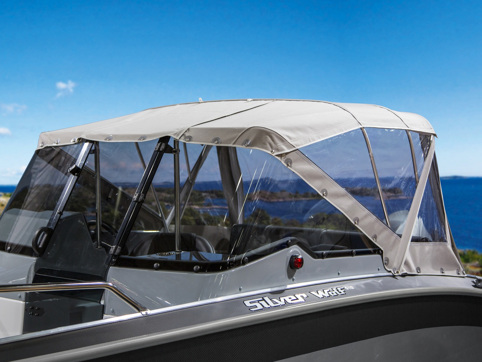 Canopies And Accessories : Stern canopy wolf br canopies and covers accessories