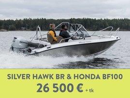 Hawk BR + Honda