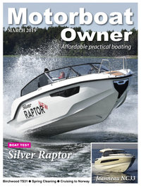 Lehtiartikkeli - Silver Raptor - Motorboat Owner UK - 03/2019
